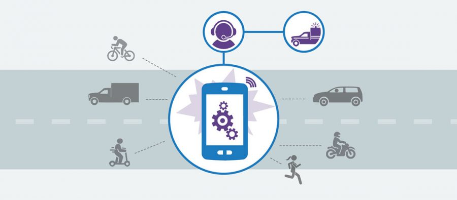 Bosch enables emergency call outside the car